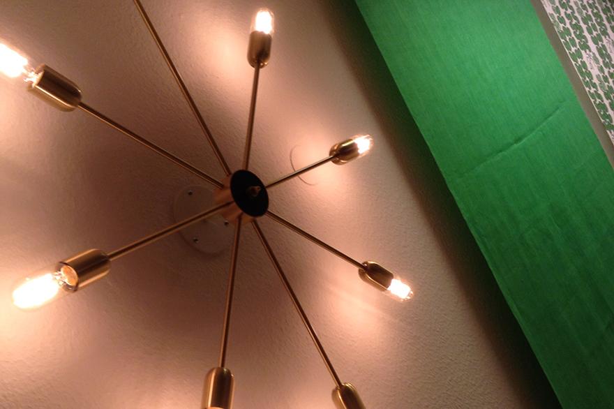 Inredare Stockholm, lampa